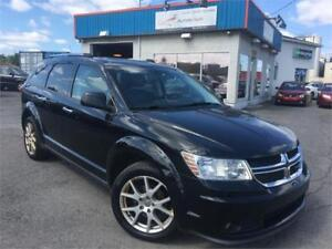 DODGE JOURNEY R/T 2011 AWD/ GPS/ CUIR/ TOIT/ MAGS/ FULL/ PROPRE