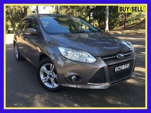 2013 Ford Focus LW MKII Trend Grey Sports Automatic Dual Clutch Hatchback Lansvale Liverpool Area Preview