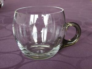 Vintage glass punch cups North Shore Greater Vancouver Area image 2