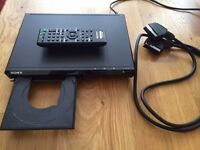 Sony DVD player with remote (SCART)