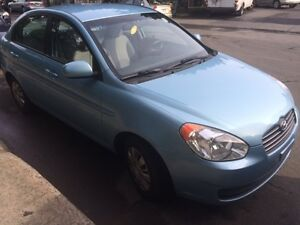 URGENT SALE !!! 2010 Hyundai Accent Berline NEGOCIABLE