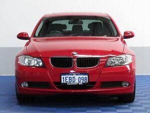 2008 BMW 320D E90 08 Upgrade 20D Red 6 Speed Steptronic Sedan Jandakot Cockburn Area Preview