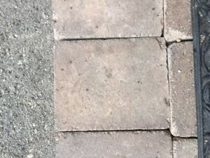 7X9X2.5 inch paving stones...about 100