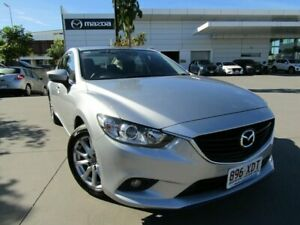 2016 Mazda 6 GL1031 Sport SKYACTIV-Drive Silver 6 Speed Sports Automatic Sedan Maroochydore Maroochydore Area Preview