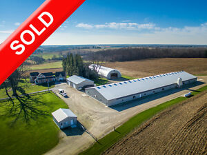 SOLD: AwardWinning BroilerBreeder Farm in Gorrie w Shop & Home