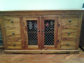 indian teak sideboard excellent condition