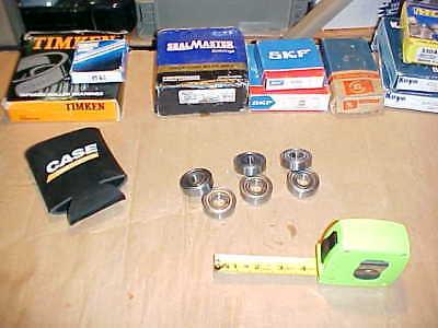 Qty. Of 6 Tsb 6203zz. Ball Bearing. 17x40x12mm. Metal Shielded. Cheap