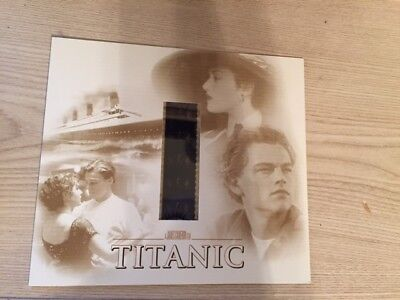 TITANIC MOVIE FILM STRIP NEGATIVE FROM 1998 ORIGINAL RELEASE NEW