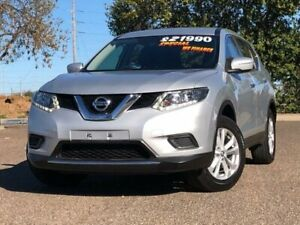 2015 Nissan X-Trail T32 ST X-tronic 4WD Silver 7 Speed Constant Variable Wagon Hillvue Tamworth City Preview