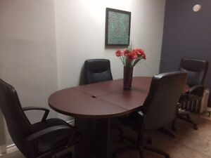 Board Room Table with Extra Top