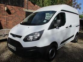 2015 Ford Transit Custom 2.2TDCi NO VAT 125PS 290 L2H1 90000 MILES GUARANTEED