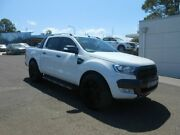 2015 Ford Ranger PX MkII Wildtrak Double Cab Cool White 6 Speed Sports Automatic Utility Nowra Nowra-Bomaderry Preview