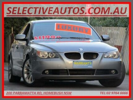 2005 BMW 530i E60 Grey 6 Speed Auto Steptronic Sedan Homebush Strathfield Area Preview