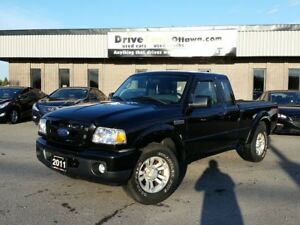 "2011 Ford Ranger 4x4 Sport   ""LOW MILEAGE"""