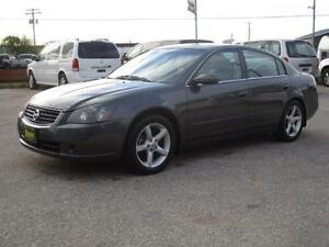 2005 NISSAN ALTIMA 3.5 SE-R, HEATED LEATHER, SUNROOF $4,950