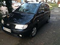 Hyundai MATRIX 1.6 petrol REG 07 MOT 2018 CAR START AND DRIVE