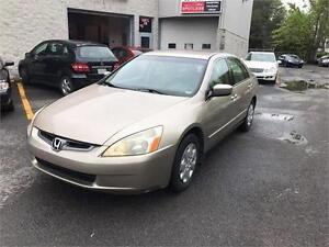 2003 Honda Berline Accord LX-G 4 CLY