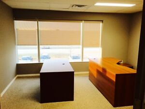 office space available with some furnishings
