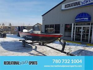 ALL NEW FOR 2017 Outfitter Red F1616 FISHING BOAT FOR SALE