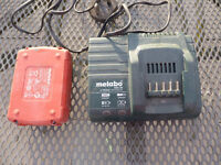 METABO POWER TOOL BATTERY CHARGER