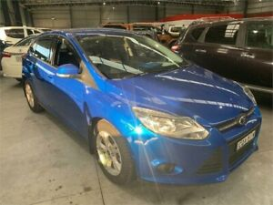 2013 Ford Focus LW MkII Trend Blue Sports Automatic Dual Clutch Hatchback Boolaroo Lake Macquarie Area Preview