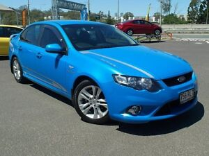 2009 Ford Falcon FG XR6 Blue 5 Speed Auto Seq Sportshift Sedan Wacol Brisbane South West Preview