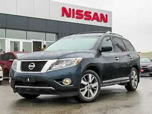 2016 Nissan Pathfinder Platinum V6 4x4|NAVI|LEATHER|360 CAM|DVD|