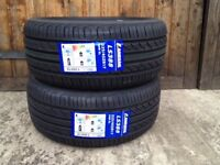 225 45 17 x2 extra load tyres brand new C C rated