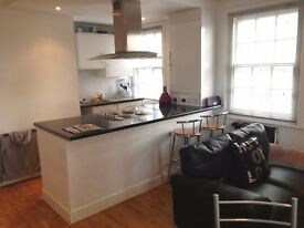 Modern apartment situated within a period conversion located within seconds of tube and DLR.