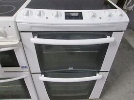 *ZANUSSI 60CM ELECTRIC CERAMIC TOP COOKER+GOOD WORKING+FREE DELIVERY+VERY CLEAN+1 MONTH WARRANTY*