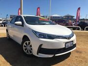 2017 Toyota Corolla ZRE172R Ascent S-CVT White 7 Speed Constant Variable Sedan Beresford Geraldton City Preview