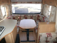bailey discovery 200 4 berth caravan full end shower room with awning and cover