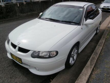 2002 Holden Commodore Vxii SS White 4 Speed Automatic Sedan Lismore 2480 Lismore Area Preview