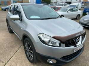 2012 Nissan Dualis J10 Series II MY2010 Ti Hatch X-tronic Silver 6 Speed Constant Variable Hatchback Wickham Newcastle Area Preview