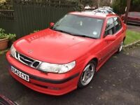 Saab 9-5 aero 2.3t, 10 months mot, drives great, viewing welcome
