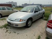 2001 Chevrolet Cavalier Sedan - Winnipeg Kia *As Is, Where Is*