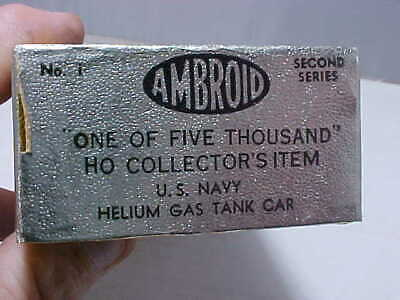 Helium Gas Tank (AMBROID 1 OF 5000 OUT OF PRODUCTION KITS-U.S. NAVY HELIUM GAS TANK CAR-ORIG.)