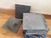 25 Slate Kitchen/Bathroom Tiles (30cm x 30cm)