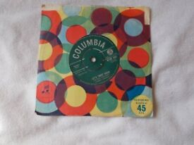 Vinyl 7inch 45 Let's Twist Again / Everything Gonna' Be All Right – Chubby Checker Columbia
