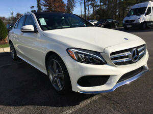 Lease Takeover: 2017 Mercedes-Benz C300 4MATIC Sedan with IDP!!