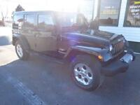 2014 Jeep Wrangler Unlimited Sahara only $249 bi-weekly!