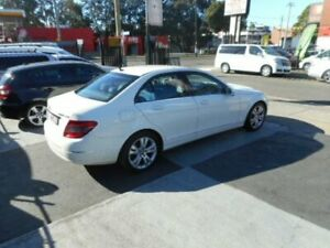 2008 Mercedes-Benz C200 Kompressor W204 Avantgarde Sedan 4dr Spts Auto 5sp 1.8S White Croydon Burwood Area Preview