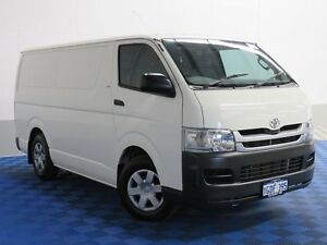 2010 Toyota Hiace TRH201R MY11 Upgrade LWB White 4 Speed Automatic Van Jandakot Cockburn Area Preview