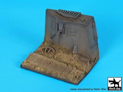 Black Dog 1/35 German A7V Tank Section with Duckboard WWI Base (90x70mm) D35097