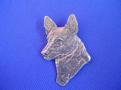 Australian Cattle Dog Pewter pin #86C Herding dog jewelry by Cindy A. (Australian Cattle Herding Dog)