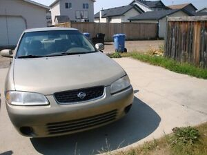 2002 Nissan Sentra 1.8L With Remote starter