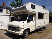 Fiat Ducato Hymer Left Hand Drive Motorhome