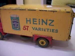 Vintage 1959 Dinky Toy Bedford Bean Can Heinz Truck