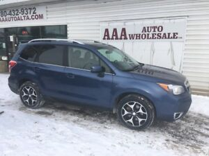 2014 Subaru Forester 2.0XT LIMITED, LEATHER, GREAT BUY !