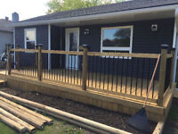 Custom and Cost Effective Decking and Fence